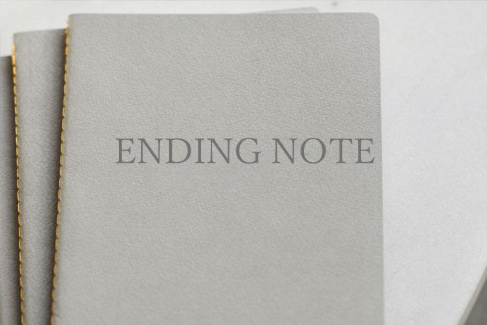 エンディングノートの書き方、遺言書との違い