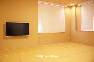 ひまわりホール・控室和室