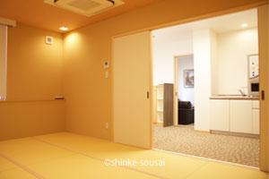 ひまわりホール・控室和室2