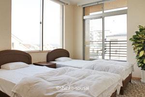 ひまわりホール・寝室ベッド