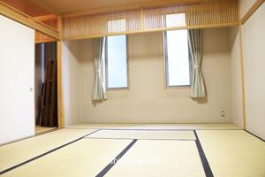 大阪市立北斎場・控室